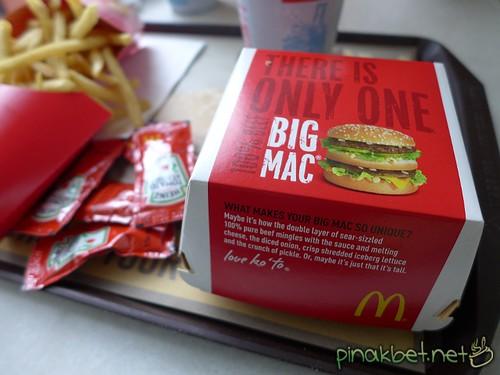 Big Mac Meal at McDonalds