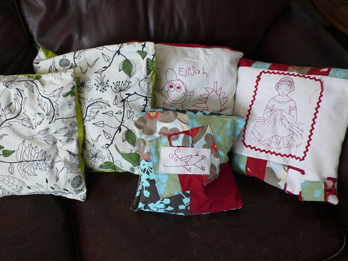 Current throw pillows (to be replaced)