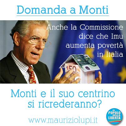 Anche l'Europa boccia l'Imu di Monti