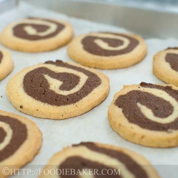 Spiral Ice Box Cookies