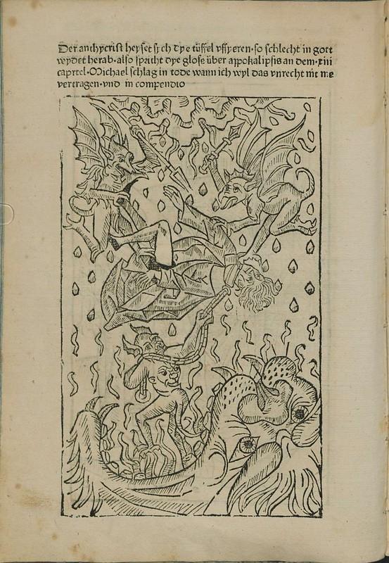 Incunabulum woodcut k