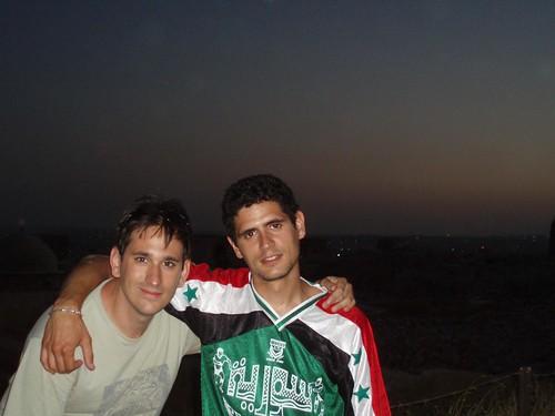 Kalipo y yo en Aleppo