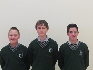 Junior Golfers, Owen O Loughlin, Stephen Hering and Aaron Bagnall
