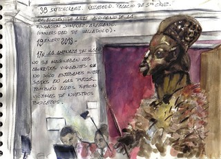 Valladolid sketch crawl. 17h.
