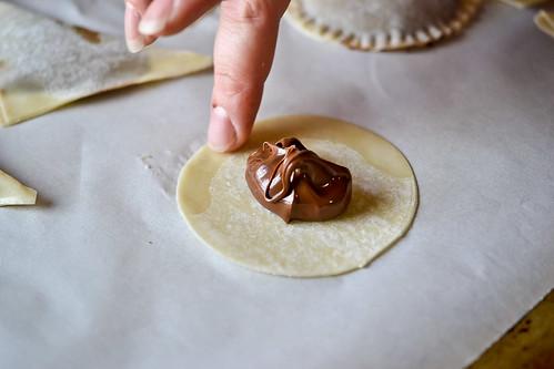 Baked Nutella Ravioli-3