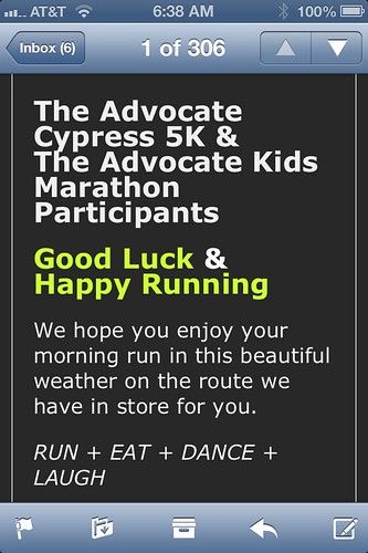 The Advocate Cypress 5K