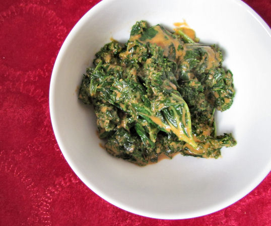 Coconut Curried Kale