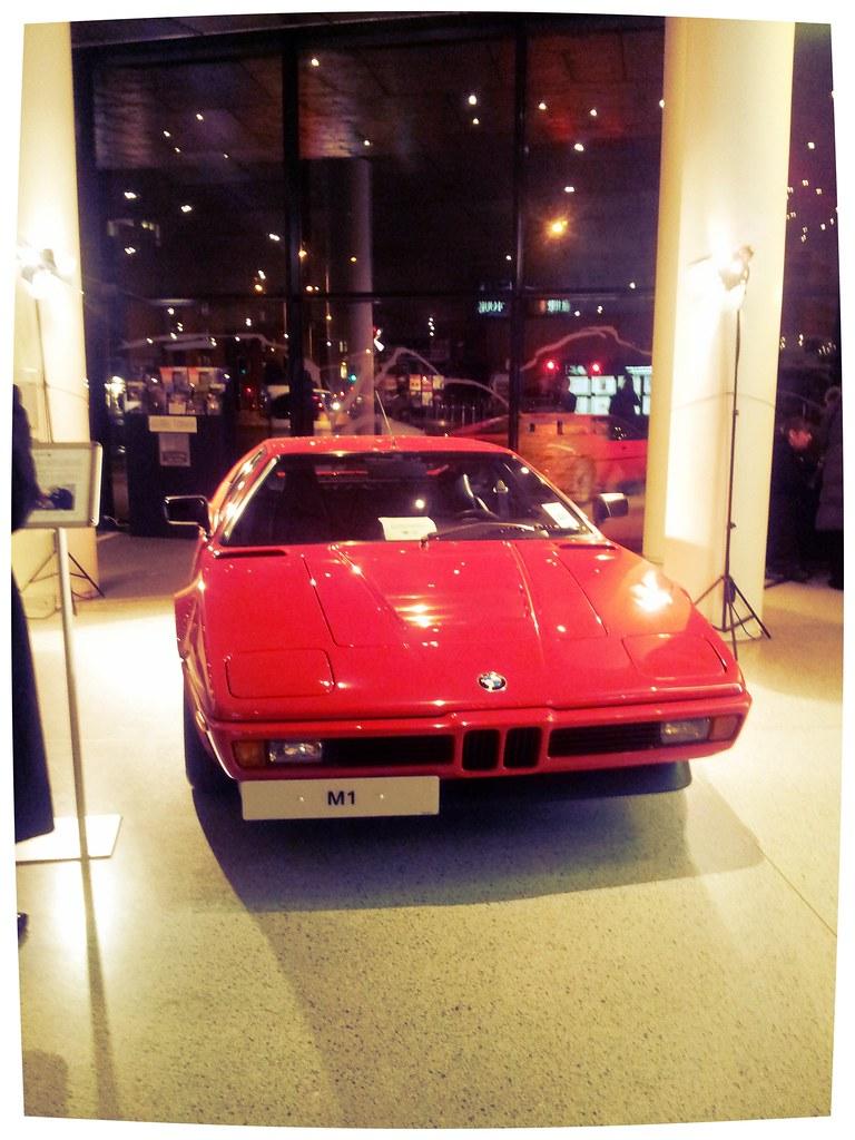 Red BMW MK1 Wales Millennium Centre