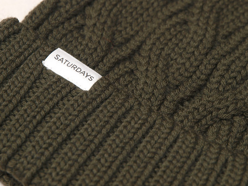 Saturdays Surf NYC / Cable Knit Beanie
