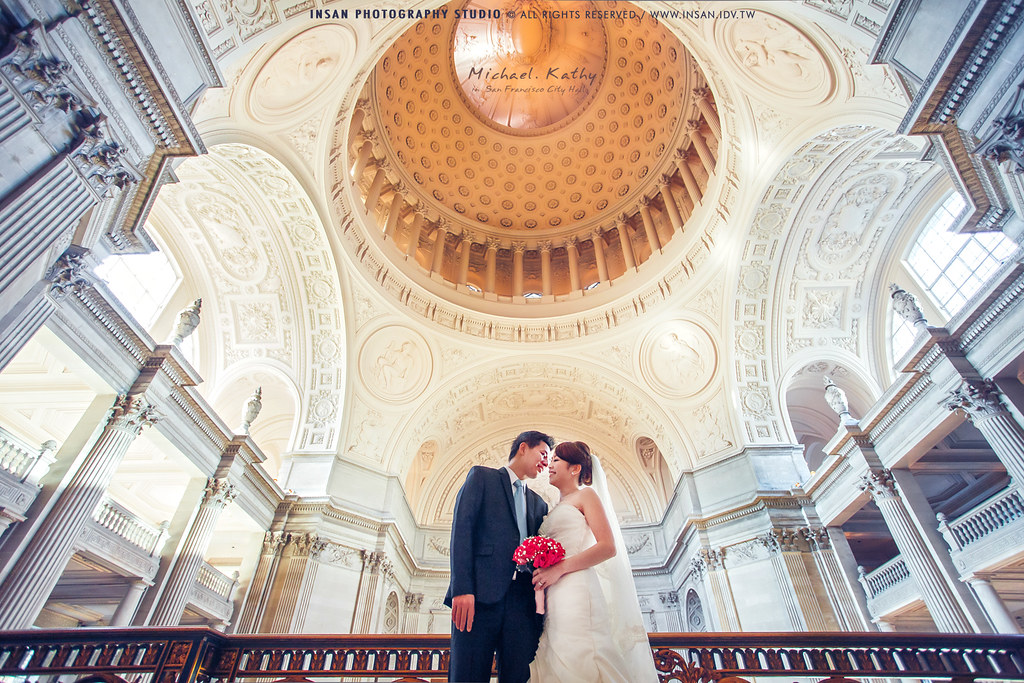 婚攝 婚攝英聖 city hall san francisco wedding