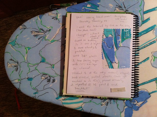my craft sketchbook project page
