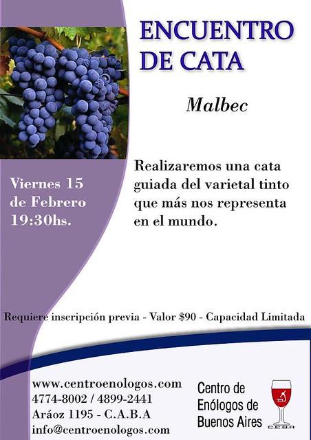 Encuentro de Cata Malbec en el CEBA
