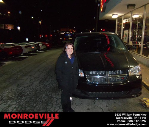 Congratulations to Sean Hall on the 2012 Dodge Caravan by Monroeville Dodge
