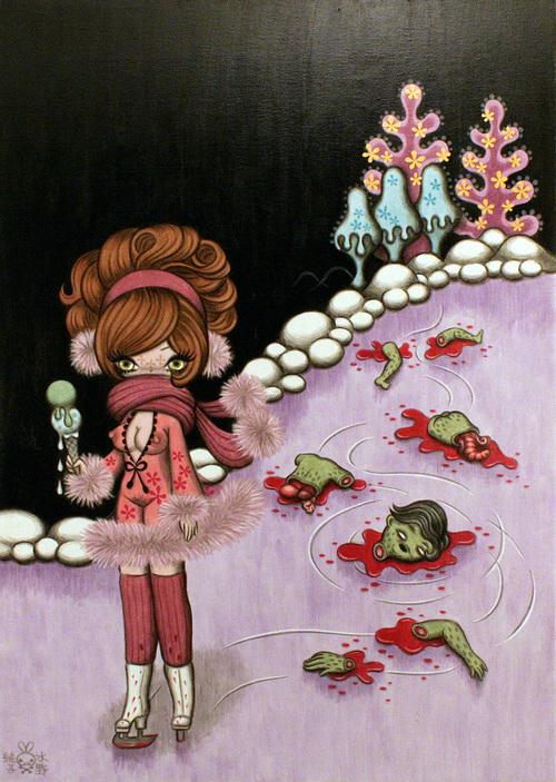 Junko Mizuno, The Skating Rink Murderer