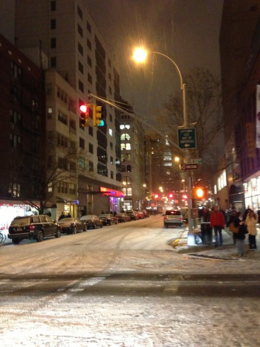 Snow, West Village