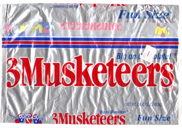 Mars 3 Musketeers Fun Size Candy Bars Bag