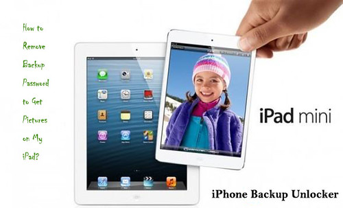 remove encrypted iPad backup password