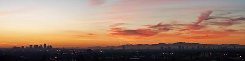 park city sunset arizona sky phoenix skyline landscape evening downtown cityscape sony uptown papago alpha a65