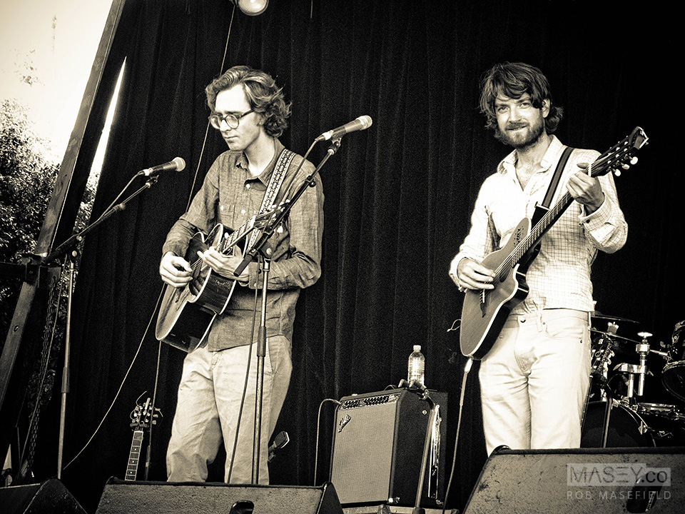 Norway's 'Kings of Convenience' - Laneway Festival 2013
