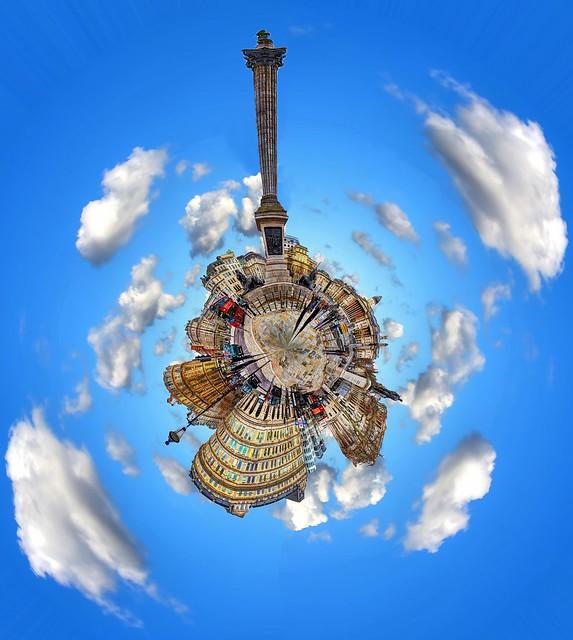 Trafalgar Square - Polar Panorama