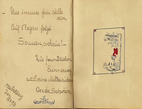 Klaras Poesiealbum 1920