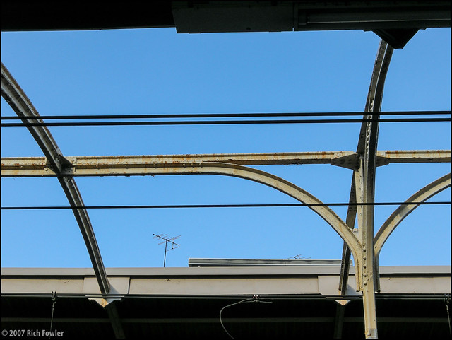 Asakusabashi Station--Roof Detail