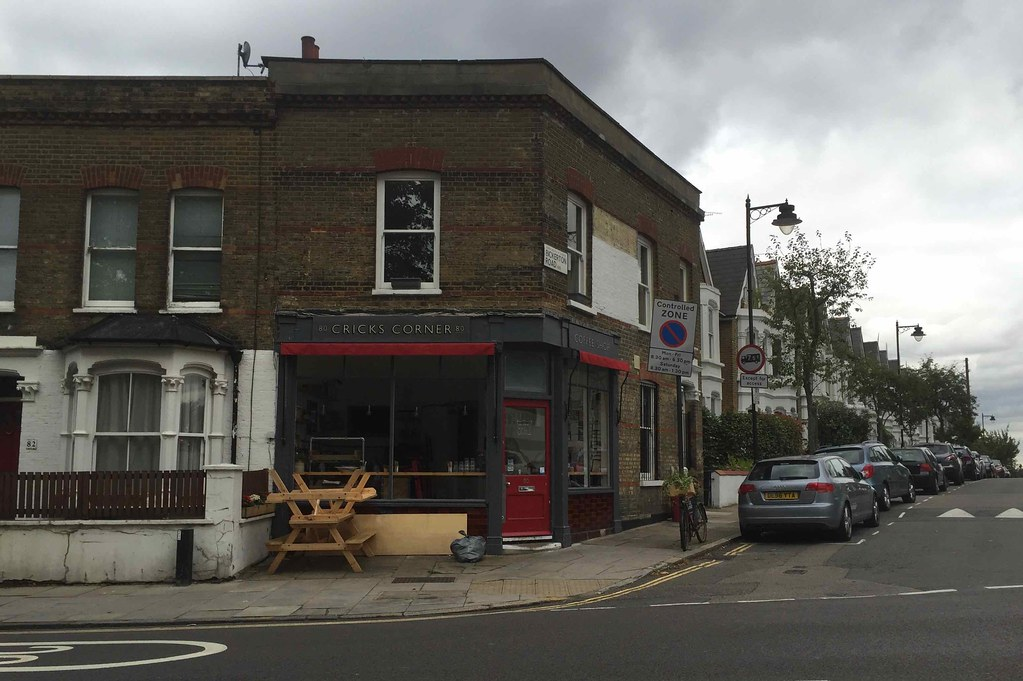 Crick's Corner, 80 Dartmouth Park Hill, London N19