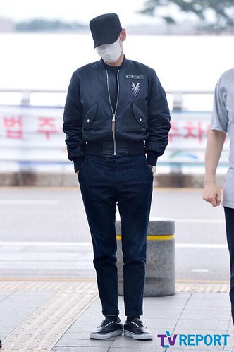 Big Bang - Incheon Airport - 26jun2015 - TV Report - 17