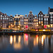 Singel street, Amsterdam by Sunny Herzinger