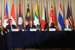 U.S. Secretary of State John Kerry attends the ASEAN Foreign Ministers Meeting, at the Palace Hotel, in New York City, New York on September 23, 2016. [State Department Photo/Public Domain]