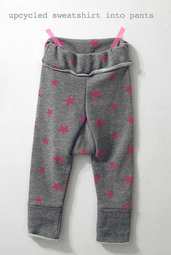 upcycled sweatpants