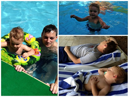 Swimming with Judah