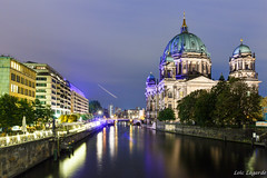 Berliner Dom by night