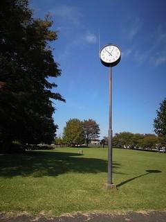 入間市博物館の時計