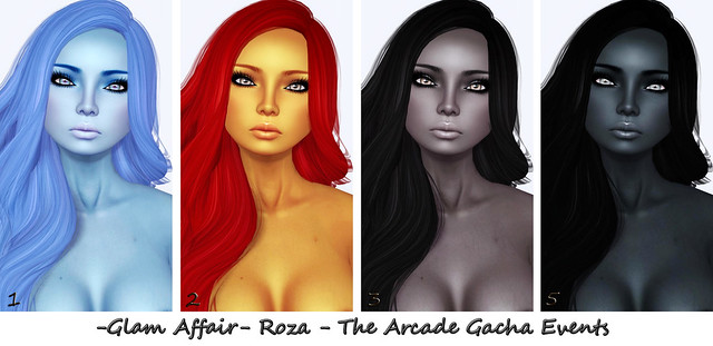 -Glam Affair-  Roza - The Arcade Gacha Events 1-4