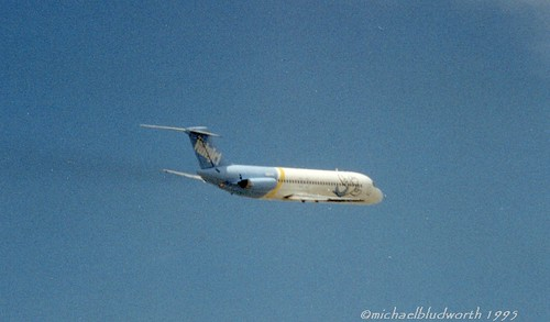 HOU 1995 ValuJet DC-9 departure