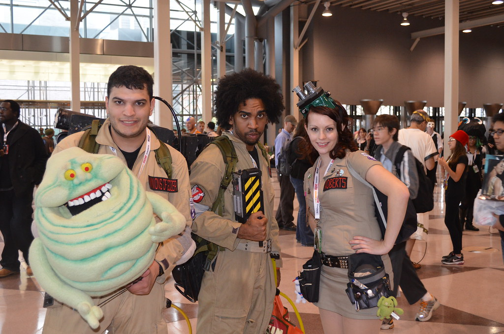 New York Comic Con 2012 Ghostbusters Cosplay
