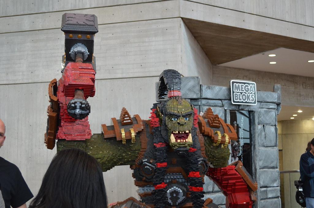 New York Comic Con 2012 Mega Blocks