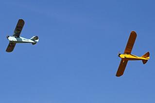 Aeronca 100 & Aeronca C3 Formation