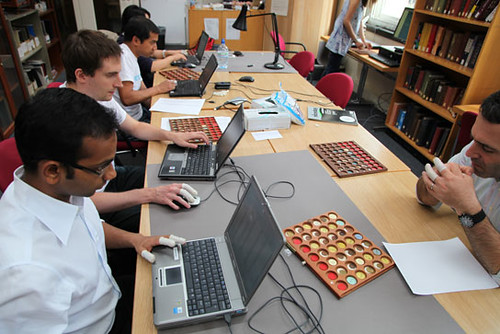 British Museum volunteers working