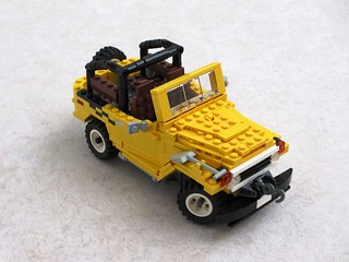 Toyota FJ40 in the style of set 5510 (1)