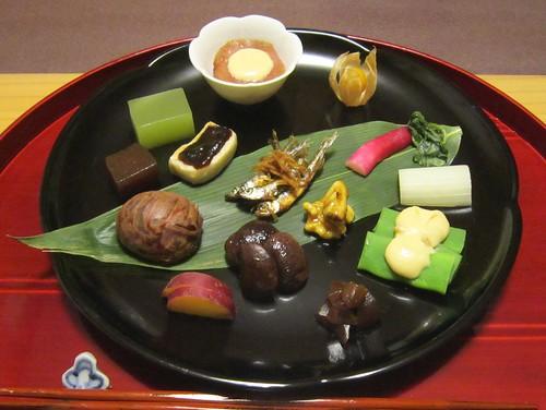 前菜の盛合せ@柚の花 2012年10月10日 by Poran111