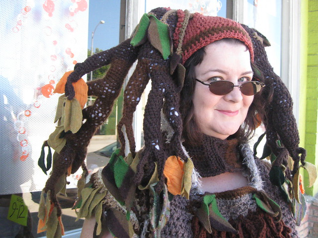 Tree Costume, headpiece