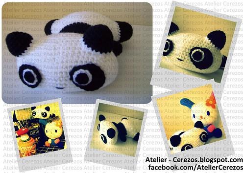 Colección Sanrio: Panda -20cm- by A t e l i e r C e r e z o s