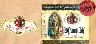 1965 - Liebfraumilch (Rhine)