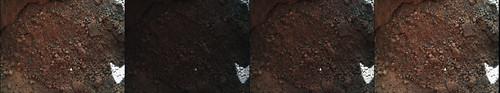 CURIOSITY sol 69 MAHLI