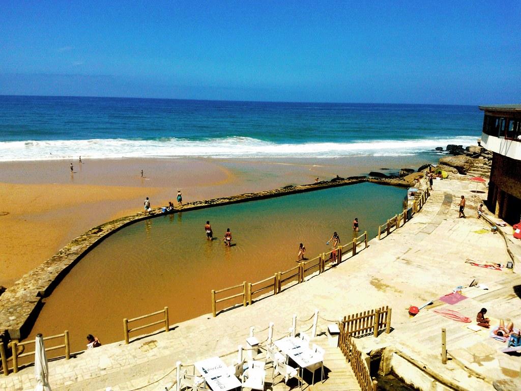 Piscina oceanica Praia Azenhas do Mar