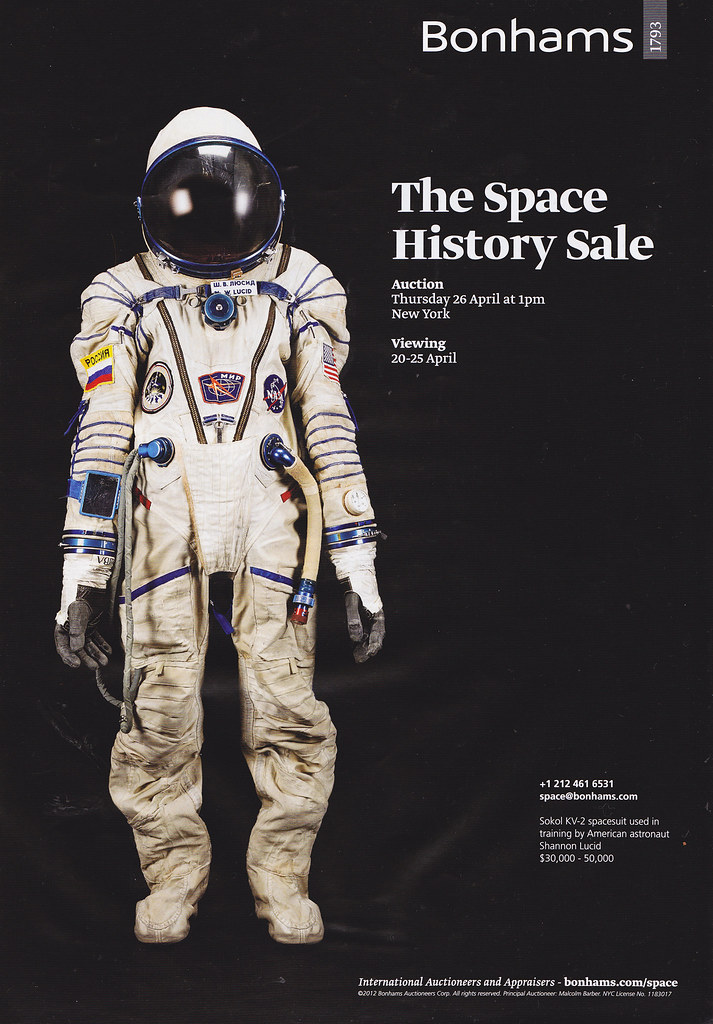 The Space History Sale