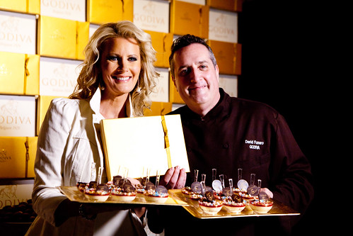 Sandra Lee and David Funaro of GODIVA