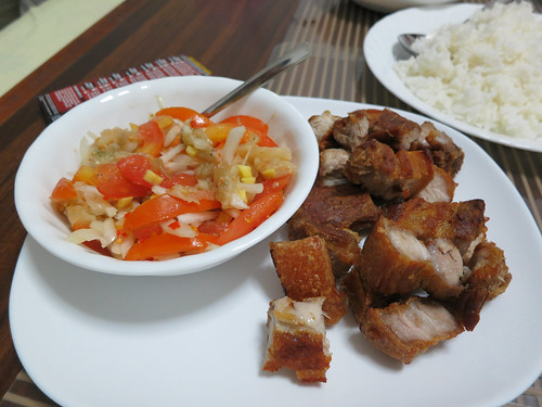Socyn's home cooked Filipino dishes